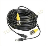 Cable 20mts Video Bnc + Alimentacion Energia / Ideal Cctv